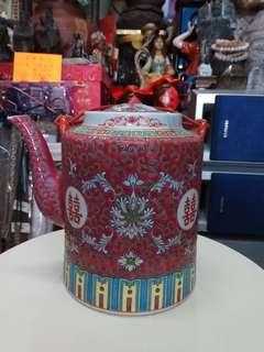双喜古舊茶壺