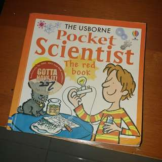 THE USBORNE Pocket Scientist The red book