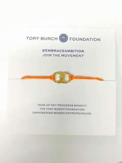 Tory Burch Embrace Ambition Bracelet- orange
