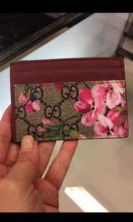 Gucci card holder