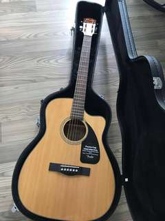 Fender Acoustic Guitar with original hard case