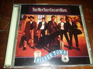 Music CD: The Men They Couldn't Hang–Silver Town - Folk Rock, Indie Rock - 2010 reissue with bonus tracks