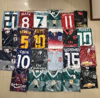 Football Jerseys (Customer Orders)