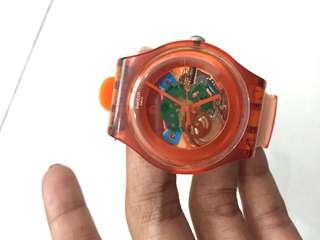 Swatch Lacquered Orange