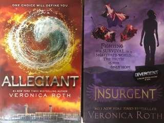 Insurgent & Allegiant Books