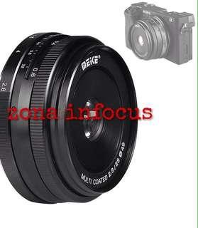 lensa meike MK 28mm F2.8 manual focus for SONY e mount