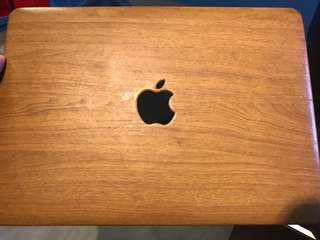 Wood Macbook Pro Hard case