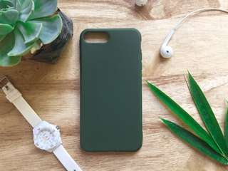 Army Green case for iPhone 7 or iPhone 8