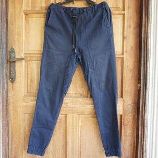 Petrol Men's Jogger Pants Dark Blue – Size 30