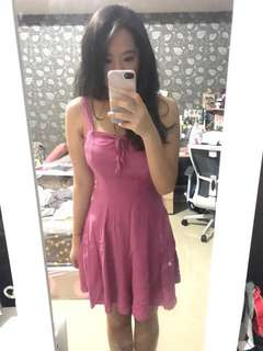 Cotton On pink dress