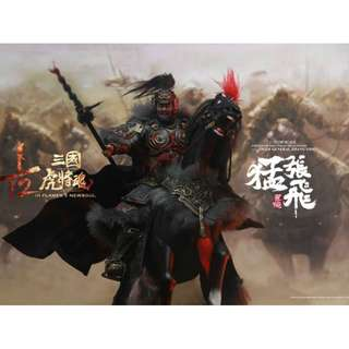PRE-ORDER : Inflames Toys IFT-034 - Soul Of Tiger Generals - 1/12th Scale Zhang Yide & The Wuzhui Horse
