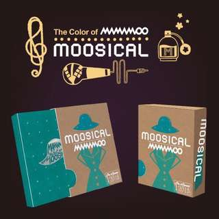mamamoo moosical 2016 photo book+ live CD