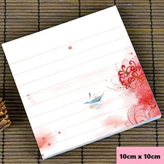 Rosy reflections scenic / watercolour notepad #6