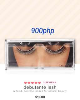 BENEFIT EYE LASHES