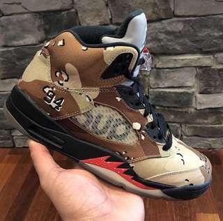 c9c27fc3a Air Jordan 5 Supreme Camo