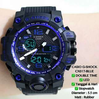 Jam tangan casio g-shock cx017