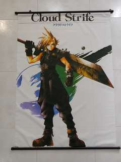 Classic Final Fantasy 7 & 8 Posters