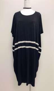🚚 黑色寬鬆洋裝