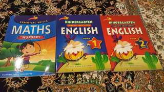 Nursery and Kindergarten Activity Books