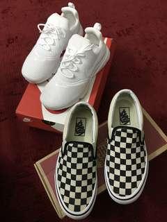 Vans Checkerboard & Nike Air Presto