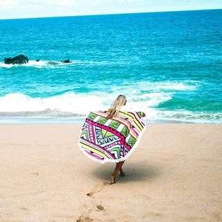 Round Beach Towel/Blanket