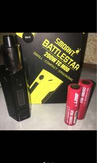SMOANT BATTLESTAR 100% AUTHENTIC
