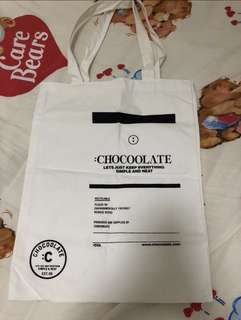 Chocolate tote bag 實用袋