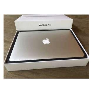 APPLE 官網在售款 MacBook Pro 15 2.2 保固至2020一月中 FORCE TOUCH 電池僅5次