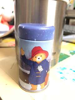 Paddington Bear Empty Can 柏靈頓熊空罐