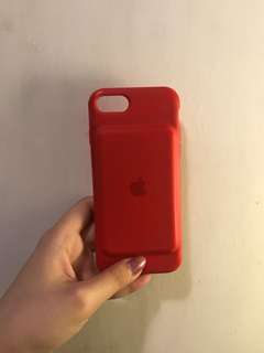 iPhone 7/8 Smart Battery Case in RED