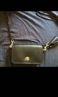 AUTHENTIC COACH SLING BAG GENUINE LEATHER