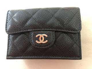 Chanel wallet / card holder