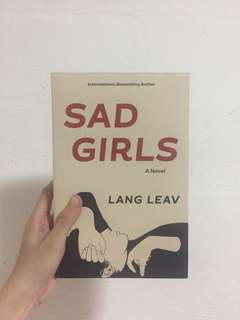 Sad Girls by Lang Leav