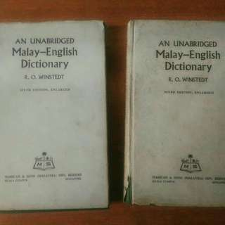 An Unabridged Malay-English Dictionary