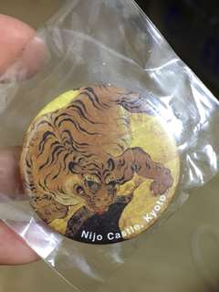 購自京都二条城襟針 Nijo Castle pin 3cm