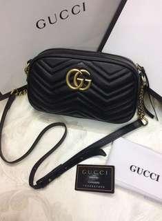 Authentic Gucci Marmont Mini Leather Bag