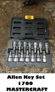 Allen Key Set (MASTERCRAFT)