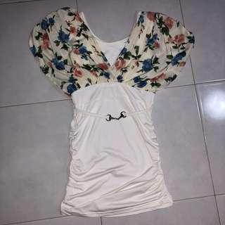 Flower Bodycon Dress