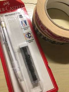 Faber Castel Mechanical Pencil and Tapes