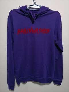 Brainwashed gamuza print violet jacket