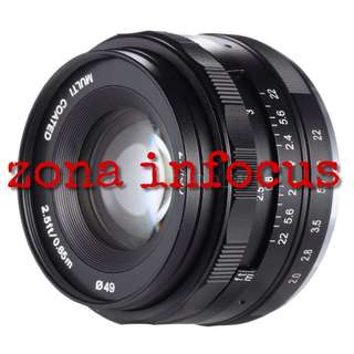 lensa meike MK 50mm f2.0 manual focus for sony dan fujifilm E MOUNT