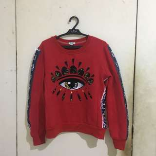 Kenzo Paris Red Sweater ( Authentic )
