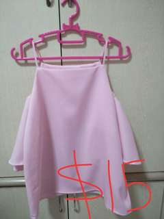 🔥LADIES FASHION PINK OFF SHOULDER TOP FOR SALE!!! BEST OFFER PRICE!! HURRY UP!🔥