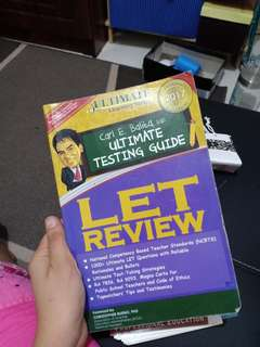 LET Carl Balita Reviewer