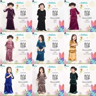 Ramona Kids Baju Kurung Bella Ammara Raya