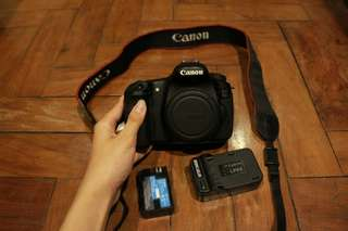 Canon 60D Body + other specs