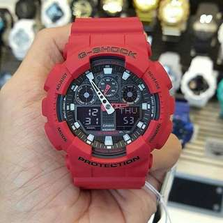 Casio G-Shock Matte Red
