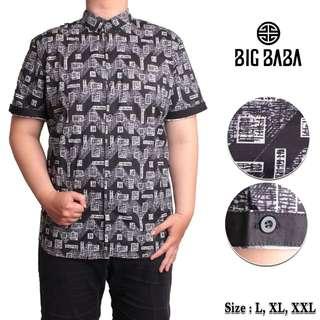 Big kemeja batik Jackie Shirt BigBaba (E)