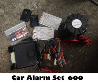 Car Alarm Set