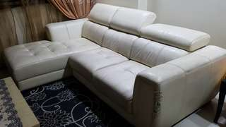 SOFA - L-Shape sofa @ $88 firm.
